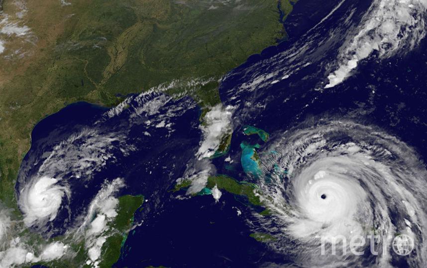 Ураган Ирма сейчас. Фото Getty