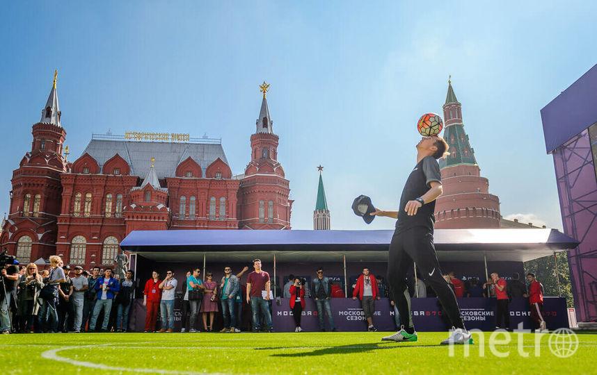 На поле пройдёт любительский турнир. Фото mos.ru