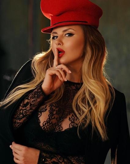 Анна Семенович. Фото Instagram Семенович.