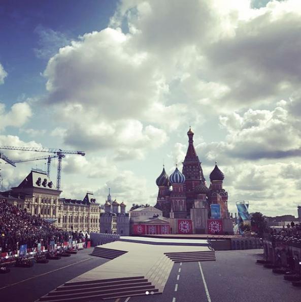 Праздничные мероприятия в честь 870-летия Москвы проходят на Красной площади. Фото Instagram mrs_belavina