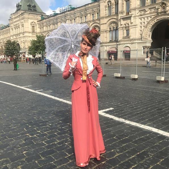 Праздничные мероприятия в честь 870-летия Москвы проходят на Красной площади. Фото Instagram martinezsveta