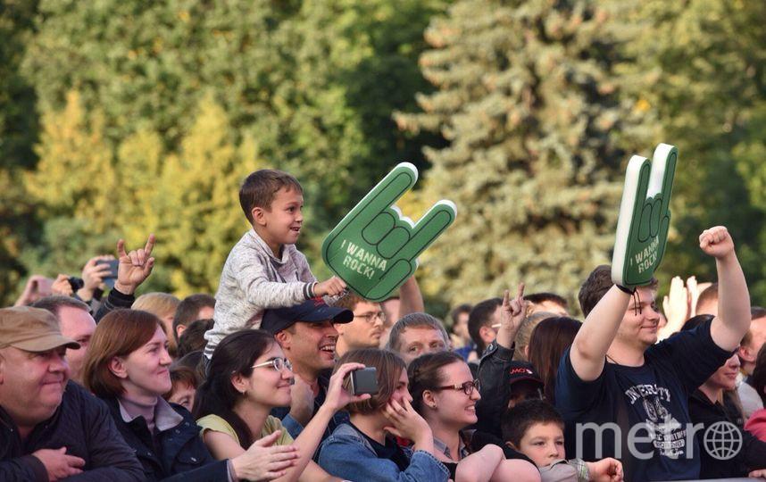 Зрители на фестивале Metro on Stage. Фото Василий Кузьмичёнок