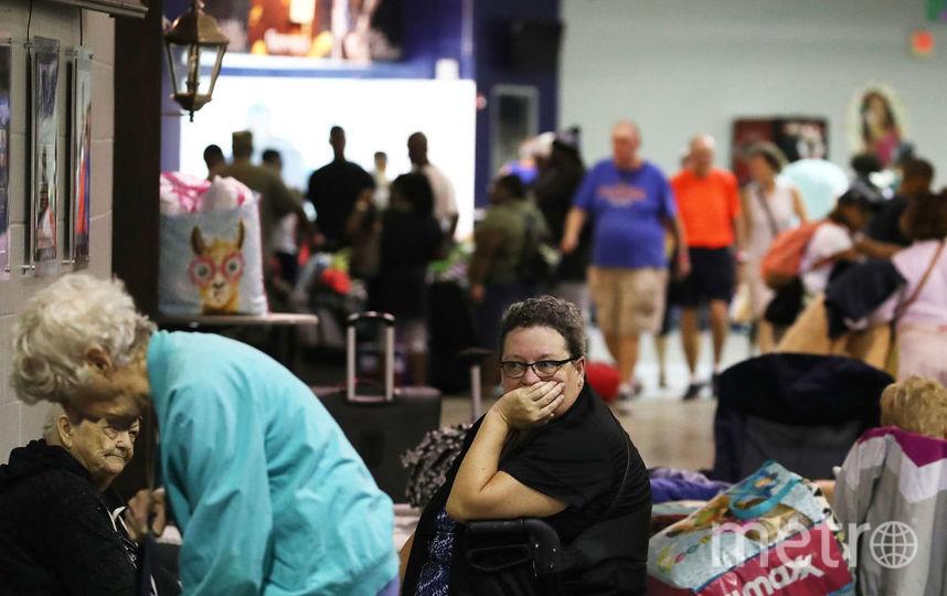 "Ураган ""Ирма"" приближаетс к Флориде. Фото Getty"