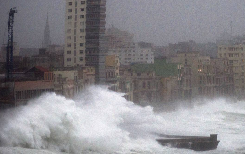 "Ураган ""Ирма"" набирает обороты. Фото Скриншот www.instagram.com/voanews/"