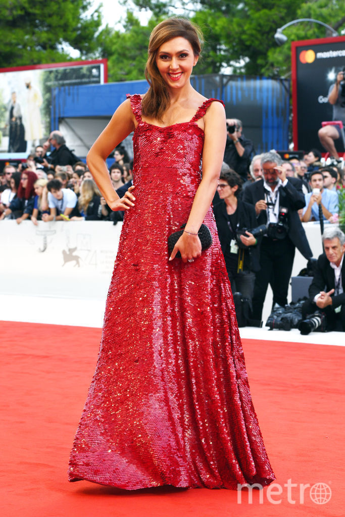 Екатерина Мцитуридзе на Венецианском кинофестивале, 2017. Фото Getty