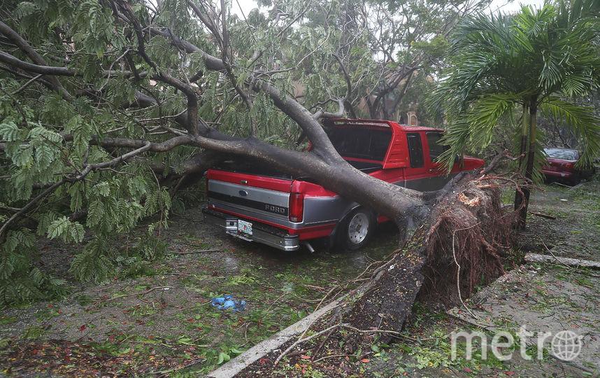 """Ураган """"Ирма"""" достиг Флориды. Фото AFP"""