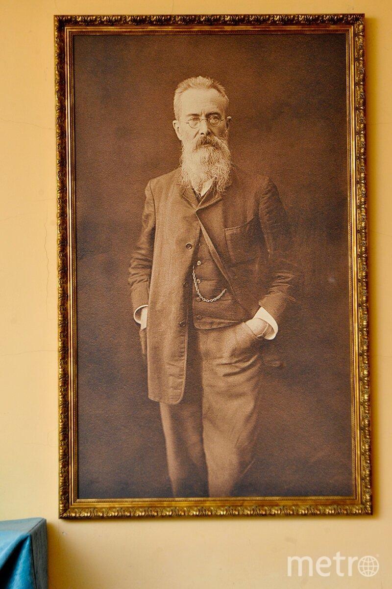 В Музее-квартире Н.А. Римского-Корсакова состоялся День бороды. Фото все - Святослав Акимов.