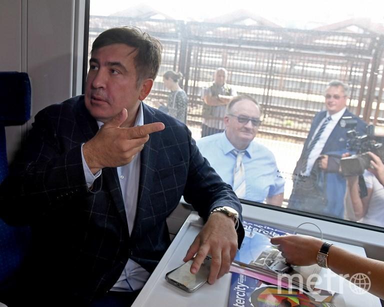 Михаил Саакашвили едет в Украину. Фото AFP