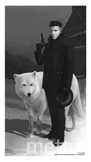 "Джон Сноу, ""Игра престолов"". Фото Vlad Ricean"