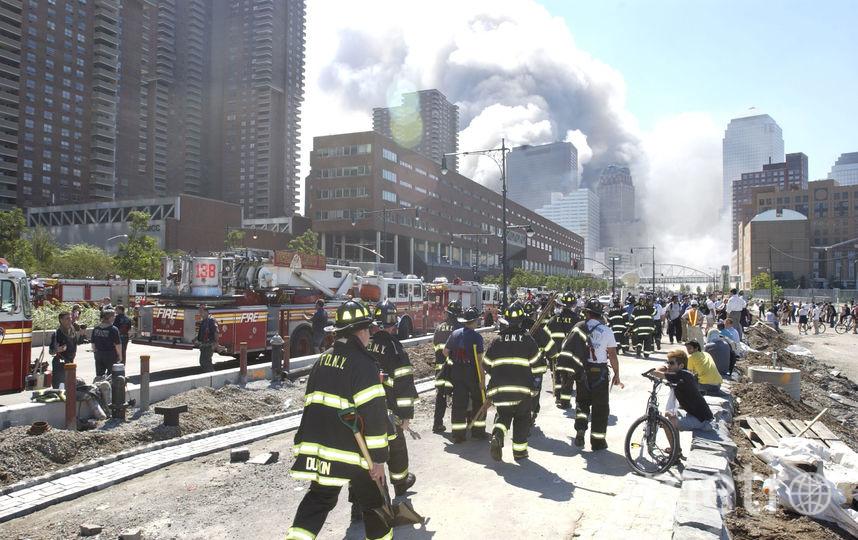 Террористический акт 11 сентября 2001 года. Фото Getty