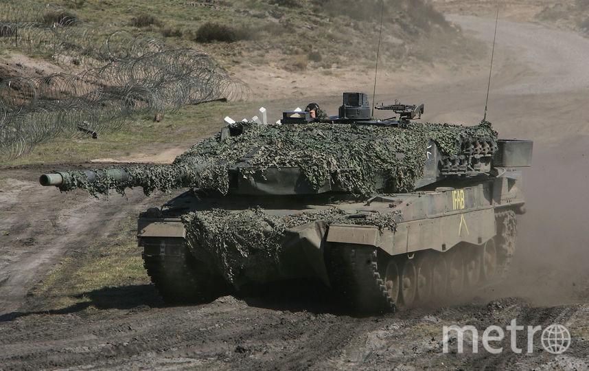 Военные учения в Европе. Фото Getty