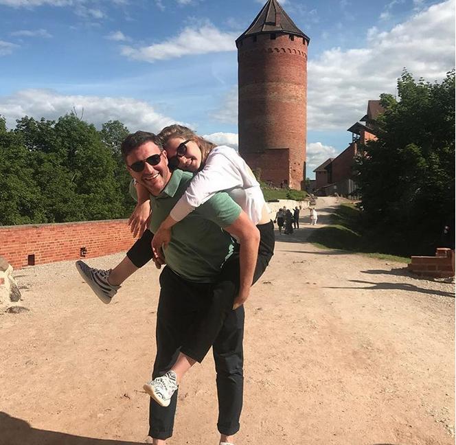 Ксения Собчак и Максим Виторган - фотоархив.