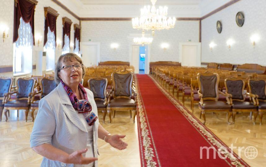 """Императорский зал Казанского университета выглядит точно так же, как 130 лет назад. Фото """"Metro"""""""