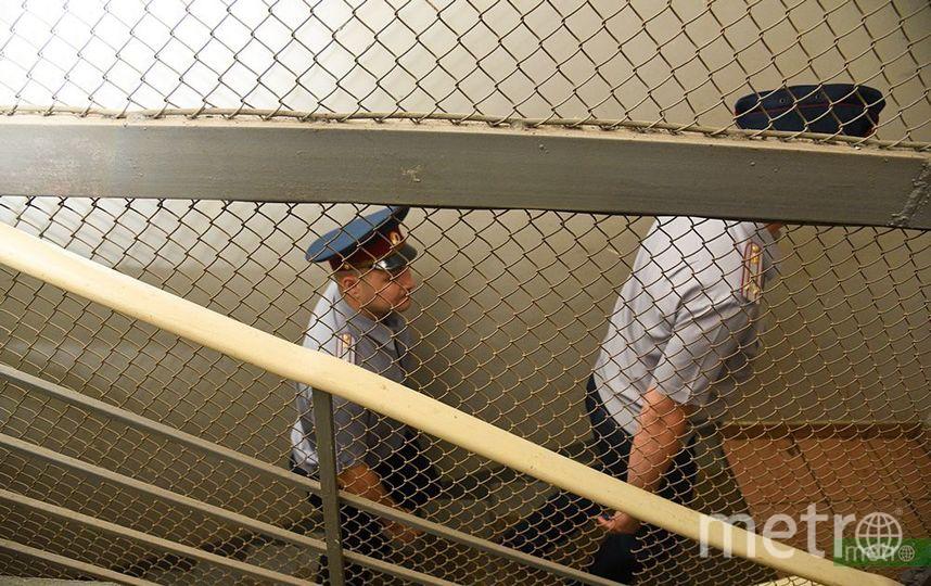 Мужчину доставили в полицию. Фото Василий Кузьмичёнок
