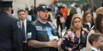 Нью-Йорк начал день с минуты молчания в память о жертвах 11 сентября – фото