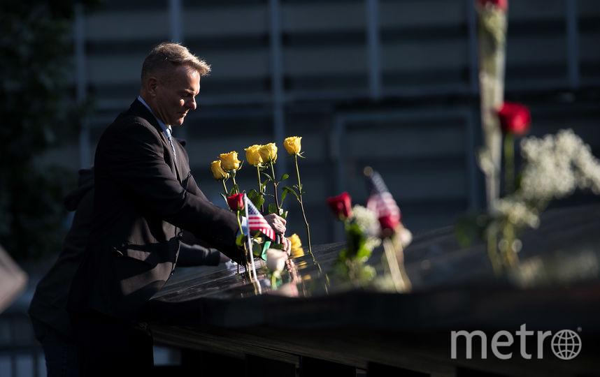 Нью-Йорк вспоминает теракт 11 сентября. Фото AFP