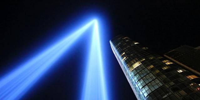Нью-Йорк вспоминает теракт 11 сентября.