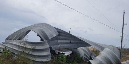 "Последствия урагана ""Ирма"" на Багамах. Фото AFP"