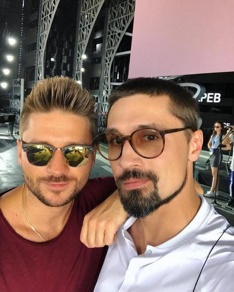 Дима Билан и Сергей Лазарев. Фото instagram Димы Билана