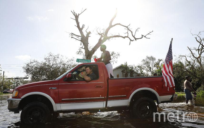 """Ураган """"Ирма"""" обрушился на Флориду. Фото AFP"""