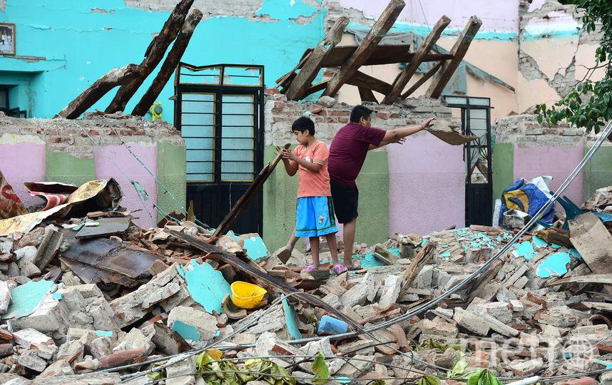 Последствия страшного землетрясения в Мексике. Фото AFP