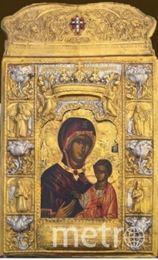"""икона Божией Матери """"Панаги́я Сумела́""""."""