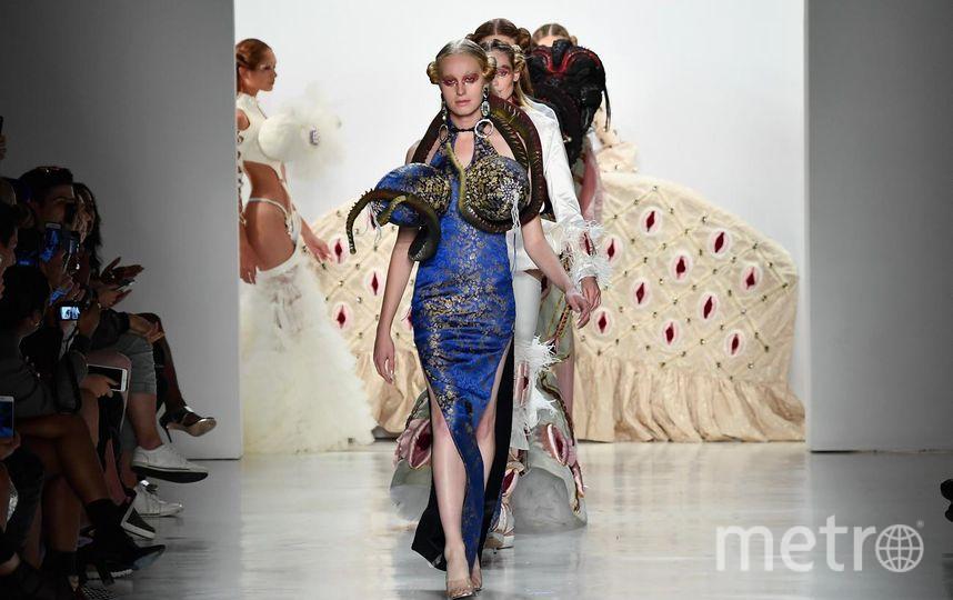 Показ коллекции весна-лето 2018 года от бренда Namilia на Неделе моды в Нью-Йорке. Фото Getty