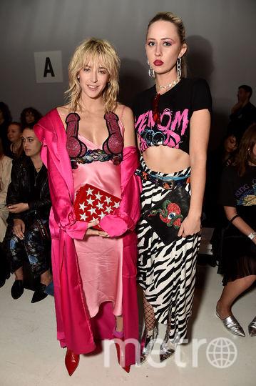 Гости показа коллекции весна-лето 2018 года от бренда Namilia на Неделе моды в Нью-Йорке. Фото Getty