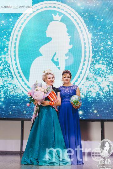 Победительница с организатором конкурса. Фото Анастасия Дариенко