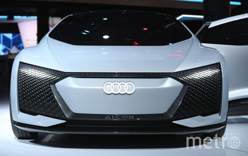 Автосалон во Франкфурте. Audi Aicon. Фото Getty