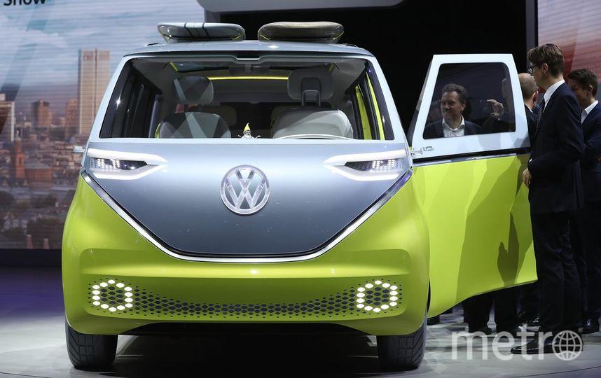 Автосалон во Франкфурте. Volkswagen ID Buzz. Фото Getty