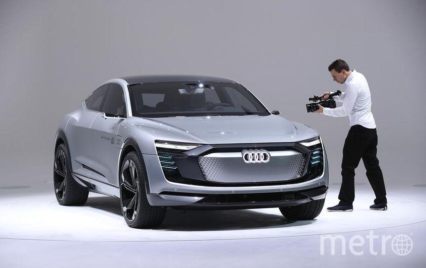 Автосалон во Франкфурте. Audi Elaine concept car. Фото Getty
