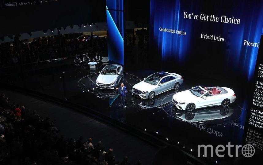 Автосалон во Франкфурте. Mercedes-Benz. Фото Getty