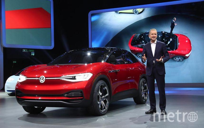 Автосалон во Франкфурте. Volkswagen ID Crozz electric. Фото Getty