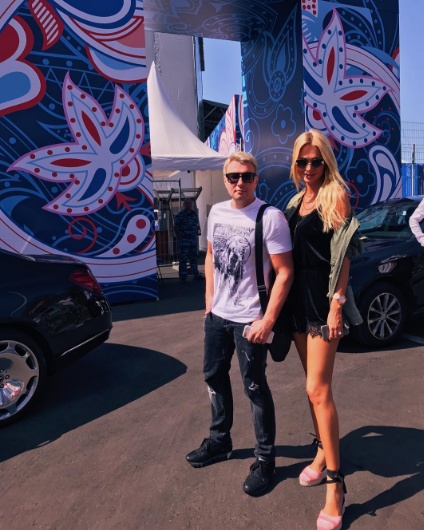 Виктория Лопырёва и Николай Басков. Фото Instagram Николая Баскова.