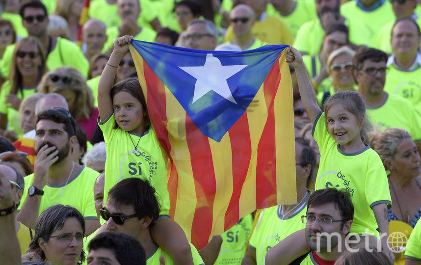 Демонстрация в Барселоне. Фото AFP