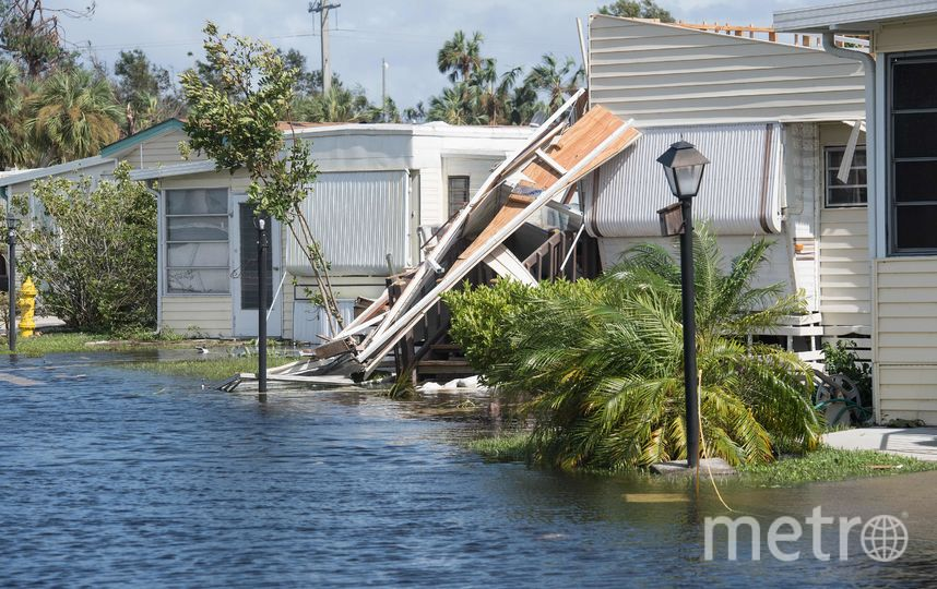 """Последствия урагана """"Ирма"""". Фото AFP"""
