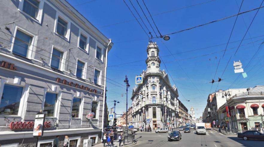 Скриншот Яндекс.Панорамы.