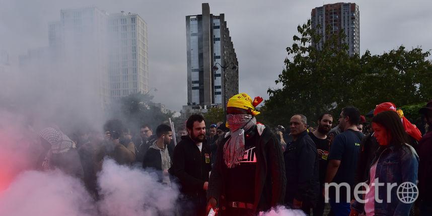 Демонстрация в Париже. Фото AFP