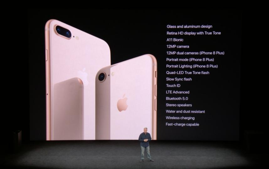 iPhone 8 и iPhone 8 Plus. Фото apple.com