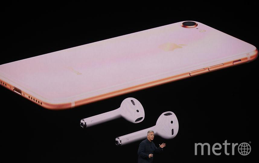 iPhone 8 и iPhone 8 Plus. Фото AFP