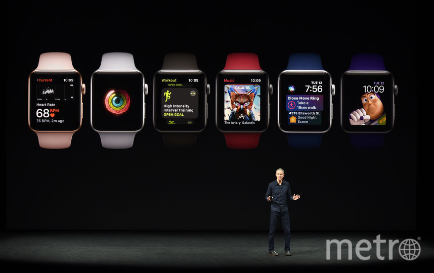Новые Apple Watch. Фото AFP