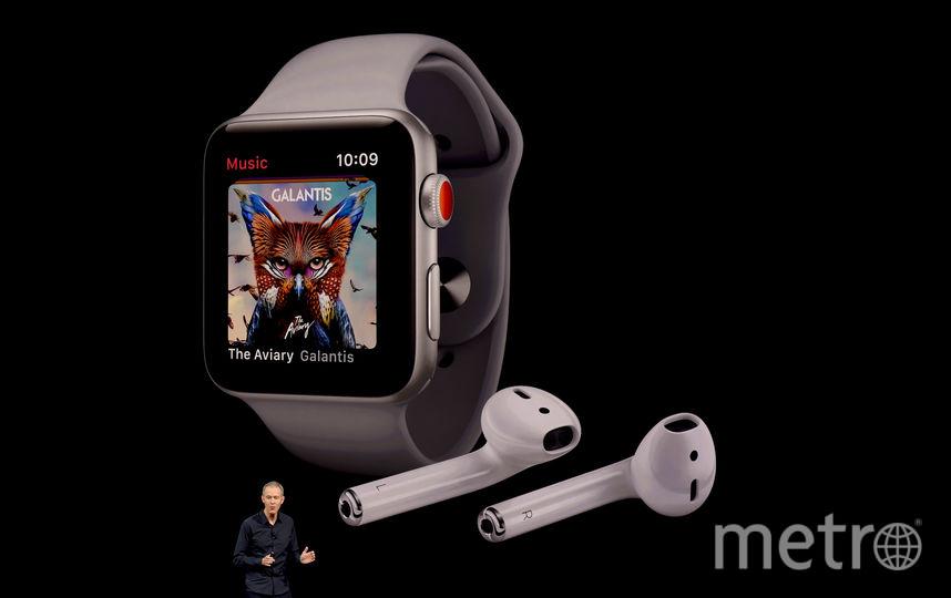 Новые Apple Watch. Фото AFP