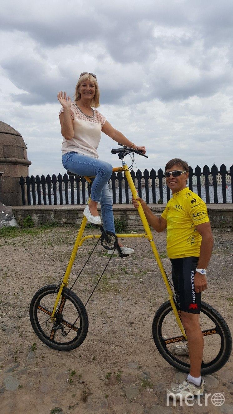 Высота велосипеда – более 6 м. Фото предоставлены героем публикации