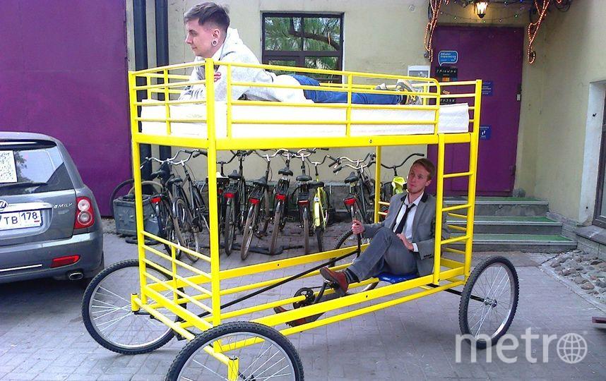 На таком велосипеде удобно вздремнуть. Фото предоставлены героем публикации