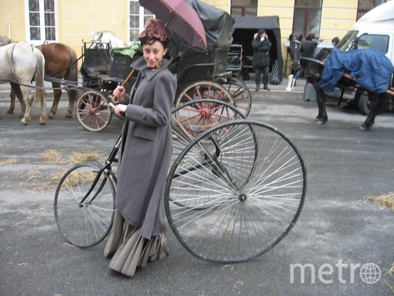 Реплика старинного велосипеда. Фото предоставлены героем публикации