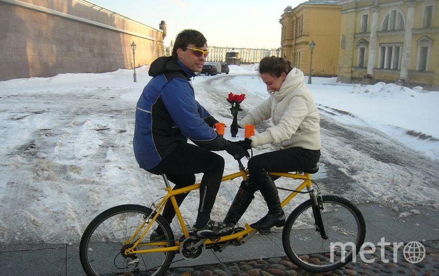 Необычный велосипед. Фото предоставлены героем публикации