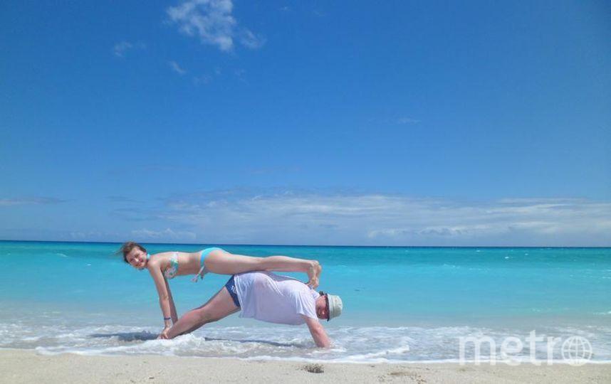 Вот моё солнышко, моя супруга. А грело нас солнышко Кубы. Варадеро - это рай. Фото Андрей Осташов.