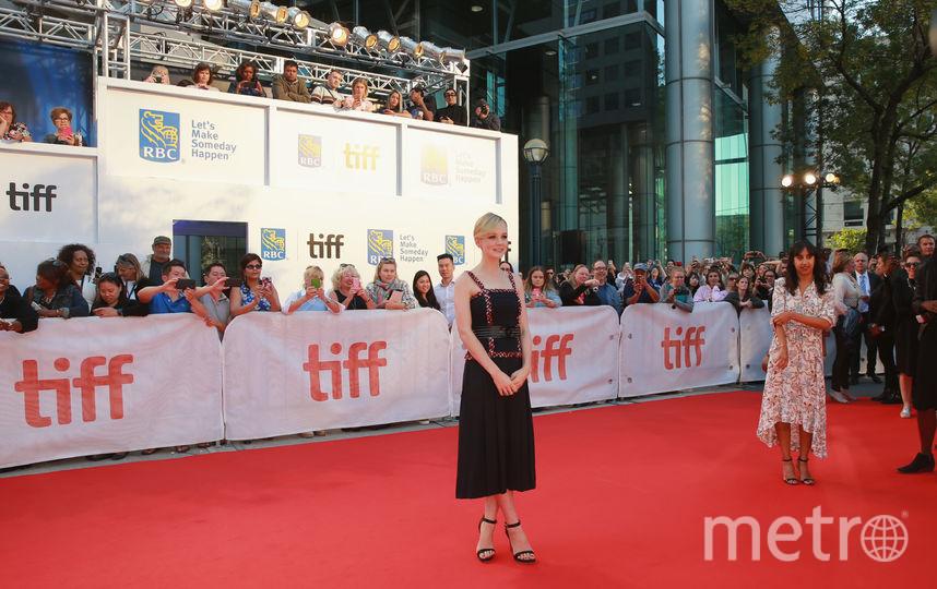 Кэри Маллиган на фестивале в Торонто. Фото Getty