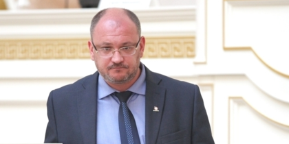 Максим Резник, депутат ЗАКСа.